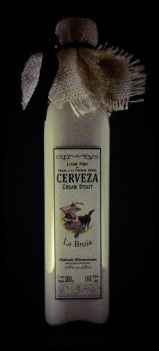 CERVEZA CREAM STOUT – Licor fino de Crema a la Cerveza Negra
