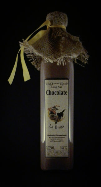 CHOCOLATE NEGRO – Licor fino de Chocolate