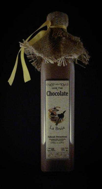CHOCOLATE NEGRO – Licor fino de Chocolate